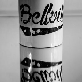 Bellville White Coffee Mugs