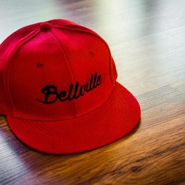 Bellville Red Snapback