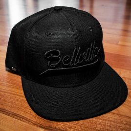 Bellville Black On Black Snapback