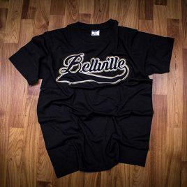 Bellville Streets Black Tees (Unisex) 180g