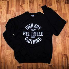 7530 Black Sweaters<br>(Unisex) 260g