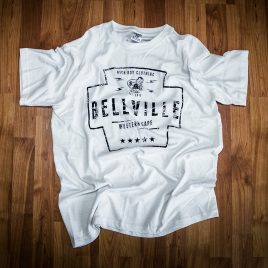 Bellville, Western Cape<br>White Tees<br>(Unisex) 180g