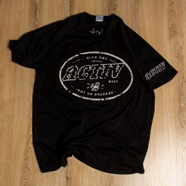 Rich Boy Activ Black Tees<br>(Unisex) 140g<br>Dry Fit