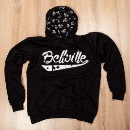 OG Bellville Black Hoodies<br>New Look<br>(Unisex) 280g