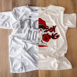 Rich Boy Double-Drop Tees