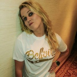 OG Bellville White Tees (Unisex) 180g <br><i>Limited Edition</i> Gold Logo