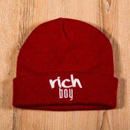 Rich Boy Red Beanies 3D