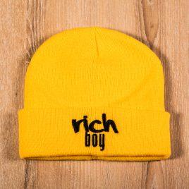 Rich Boy Yellow Beanies 3D